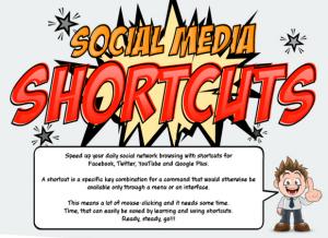 social media shortcuts