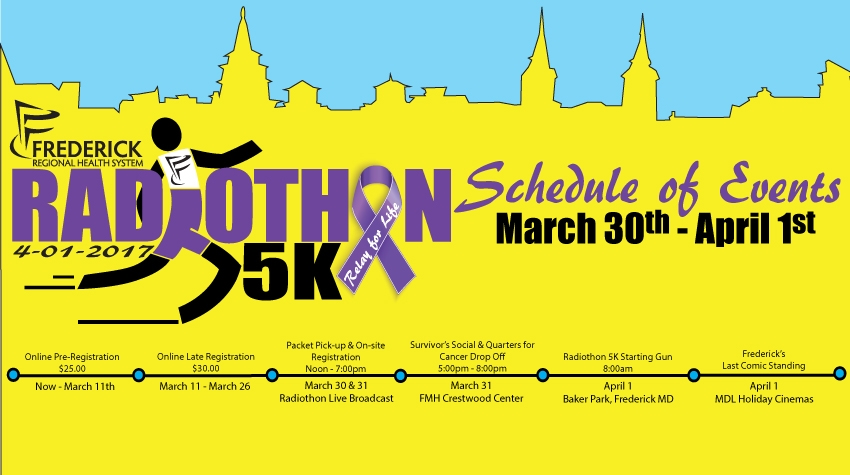 2017 Frederick Regional Health Systems, Relay for Life Radiothon